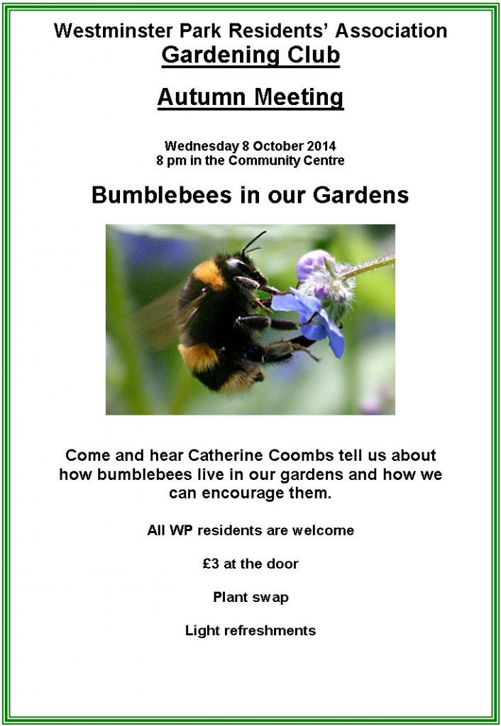 Gardening Club Bumble Bees